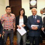 Ministra del Deporte se reunió con Marcelo Ríos y Federación de Tenis para planificar desarrollo de la disciplina