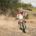 Pablo Quintanilla ganó la primera etapa en motos del Rally Atacama Training