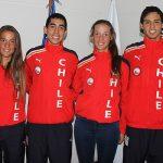 Partieron a los Juegos Olímpicos de la Juventud los seleccionados chilenos de remo