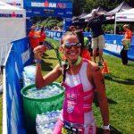 Valentina Carvallo logró el tercer lugar del Ironman 70.3 de Timbermam