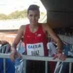 Carlos Díaz batió el récord de Chile sub 23 de los 1.500 metros planos