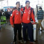 Sebastián Romo y César Abaroa avanzaron a los cuartos de final del Mundial Juvenil de Remo