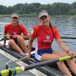 Melita y Antonia Abraham lograron el quinto lugar en el Mundial Junior de Remo
