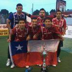 Chile se coronó campeón de la Copa América de Fútbol Calle 2014