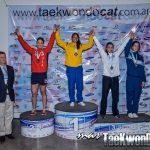 Delegación nacional obtuvo medallas de plata y bronce en el Open Argentina de Taekwondo