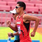 Yerko Araya logró medalla de bronce en la marcha del Iberoamericano de Atletismo
