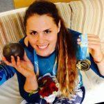 Natalia Ducó se quedó con el oro en el Iberoamericano de Atletismo