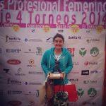 Fernanda brito se coronó campeona del ITF de Santa Fe