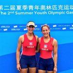 Antonia y Melita Abraham se instalaron en la gran final del dos sin timonel en los Juegos Olímpicos de la Juventud