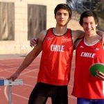 Diego Delmónaco y José Miguel Ballivian debutan en el atletismo de los Juegos Olímpicos de la Juventud