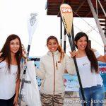 """Dominique Erskine y """"Moja"""" Quintana se coronaron campeones nacionales de SUP Surf"""