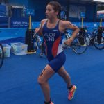 Catalina Salazar y Javier Martin tuvieron buena actuación en relevos mixtos del triatlón en Nanjing