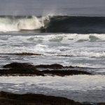La competencia femenina se tomó el tercer día del Antofagasta Bodyboard Festival 2014