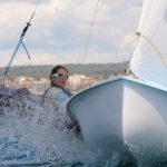 """Velero """"Santander"""" espera por el viento en Mundial de Vela Olímpica"""