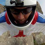 Ramón Rojas intentará romper un récord en la disciplina Ski Wingsuit Base