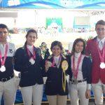 Equitador Antoine Porte entrega medalla de plata para Chile en los Juegos Olímpicos de la Juventud