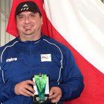 Pesista paralímico Cristian Aguirre recibe medalla de plata de Santiago 2014 tras confirmarse dopaje de colombiano