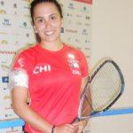Carla Muñoz cayó en octavos de final del rácquetball en el Festival Deportivo Panamericano