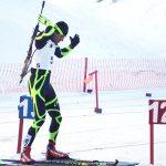 Yonathan Fernández y Claudia Salcedo se coronaron campeones en el Sudamericano de Biathlón