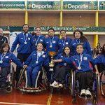 Delegación chilena obtuvo dos medallas en el Panamericano de Handball en Silla de Ruedas