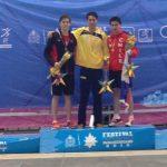 Eduardo Opazo entrego otra medalla para la natación chilena en Festival Deportivo Panamericano