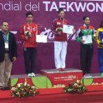 Yeny Contreras obtuvo medalla de plata en el Panamericano de Taekwondo