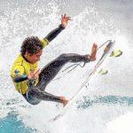 Roberto Araki se instaló en la cuarta ronda del Chicama Classic Junior Pro Perú de Surf