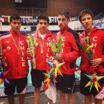 Natación chilena partió con una medalla de plata su participación en el Festival Deportivo Panamericano