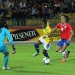 Chile cayó ante Brasil en nueva jornada de la Copa América Femenina