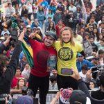 Alexandra Rinder y Uri Valadão se coronaron campeones del Antofagasta Bodyboard Festival 2014