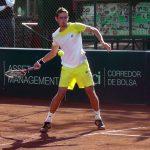 Tenistas nacionales avanzaron a cuartos de final de torneos Futuro