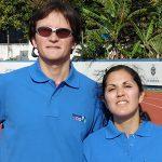 Margarita Faúndez y Alejandro Arellano consiguieron medallas en torneo de atletismo paralímpico en Brasil