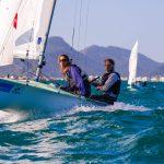 """Velero """"Santander"""" se ubica en el décimo lugar de la Flota de Plata 470 del Mundial de Vela Olímpica"""