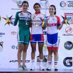 Daniela Guajardo entregó la primera medalla chilena en el Panamericano de Ciclismo en Pista
