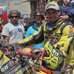Claudio Rodríguez se coronó campeón en motos del Rally Desafío Inca