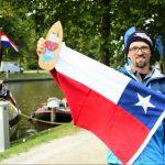 Arnaud Frennet ganó la carrera de Stand Up Paddle más larga del mundo