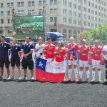 Selecciones chilenas siguen avanzando en el Mundial de Fútbol Calle 2014