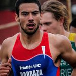 Felipe Barraza obtuvo el quinto lugar en el ITU World Cup Triathlon de Colombia