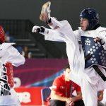 Ignacio Morales y María José Jara cayeron en primeras rondas del Mundial de Taekwondo