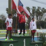 Matías Silva logró medalla de oro en el Sudamericano de Atletismo Sub 23