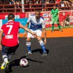Selecciones chilenas se instalan en cuartos de final del Mundial de Fútbol Calle