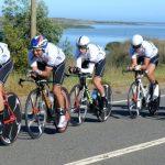 Team Avanti ganó la contrarreloj de la segunda Vuelta Ciclista Internacional del Maule