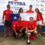 Chile logró el tercer lugar por equipos del Sudamericano de Clavados