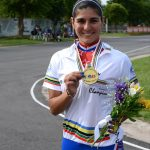 María José Moya se corona campeona mundial de los 200 metros contrarreloj de patín carrera