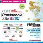 Tenistas chilenas ya tienen rivales para la Copa Providencia