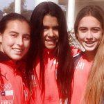 Valentina González aportó una medalla de bronce para Chile en el Latinoamericano de Esquí Náutico