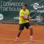Guillermo Rivera avanzó en el Challenger de Bogotá