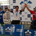 Jorge Carinao gana medalla de oro en circuito brasileño de pesas paralímpicas