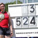 Catalina Bravo logra nuevo récord nacional cadete de lanzamiento de disco