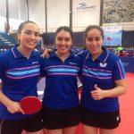 Chile obtiene medalla de oro por equipos damas en el Sudamericano de Tenis de Mesa